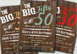 50th Birthday Invites For Men Party Invitations Cimvitation