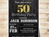 50th Birthday Invites for Men Mens Surprise 50th Birthday Party Invitations 50th Birthday