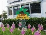 50th Birthday Lawn Decorations Birthday Yard Flocking Decorations Tampa Fl Call
