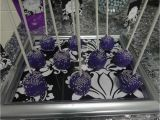50th Birthday Party Decorations Black and Silver Purple Black White and Silver Birthday Party Ideas
