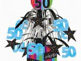 50th Birthday Party Decorations Cheap 50th Birthday Mini Foil Centerpiece Discount Birthday