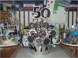 50th Birthday Party Decorations for Men 50th Birthday Party themes for Men Via Marianna Montoya