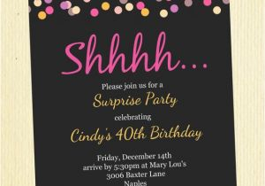 50th Birthday Party Invitation Wording Ideas Invitations A Cake