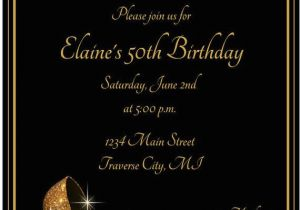 50th Birthday Party Invitation Wording Ideas Best 25 Invitations On Pinterest