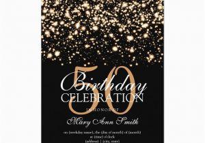 50th Birthday Party Invitation Wording Ideas Templates