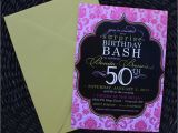 50th Birthday Party Invitations with Photo Party Invitations 50th Birthday Best Party Ideas