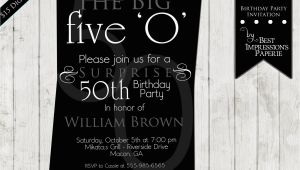 50th Birthday Party Invite Wording 50th Birthday Party Invitations for Men Dolanpedia
