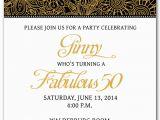 50th Birthday Party Invites Free Templates 50th Birthday Invitation Templates Free Printable My