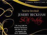 50th Birthday Party Invites Free Templates 50th Birthday Invitations and 50th Birthday Invitation