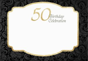 50th Birthday Party Invites Free Templates Printable Invitations Template