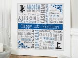 50th Birthday Present Ideas for Him Uk 50th Birthday Personalised Gift Ideas for Men Chatterbox