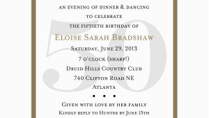 50th Birthday Sayings for Invitations 4 Plain 50th Birthday Invitation Wording Sample Ideas