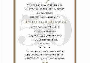 50th Birthday Sayings For Invitations 4 Plain Invitation Wording Sample Ideas