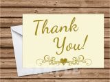 50th Birthday Thank You Cards 50th Wedding Anniversary Ivory Thank You Cards Party