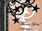50th Birthday Thank You Cards Thank You 50th Birthday Card Invitation Print It Yourself