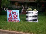 50th Birthday Yard Decorations 17 Best Images About 50th Birthday Ideas On Pinterest