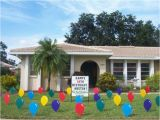 50th Birthday Yard Decorations 23 Best Images About Lawn event Signs On Pinterest