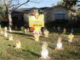 50th Birthday Yard Decorations Birthday Yard Flocking Decorations Tampa Fl Call