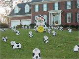 50th Birthday Yard Decorations Cow Decor Holy Cow Sally 39 S 40 Cows Announcement
