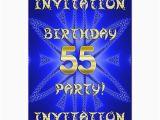 55th Birthday Party Invitations 55th Birthday Party Invitation Zazzle Ca