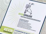55th Birthday Party Invitations Items Similar to Manopause Birthday Invitation 55th