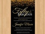 5oth Birthday Invitations 50th Birthday Invitation for Women 50 and Fabulous