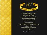 5oth Birthday Invitations 50th Birthday Invitation Ideas Oxsvitation Com