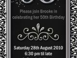 5oth Birthday Invitations Fiftieth Birthday Invitations Smart Designs