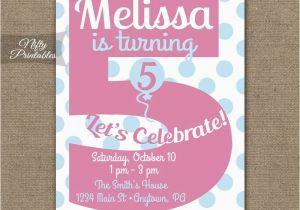 5th Birthday Invitation Wording Boy Invitations Printable Fifth