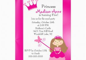 5th Birthday Invitation Wording For Girl Rhymes
