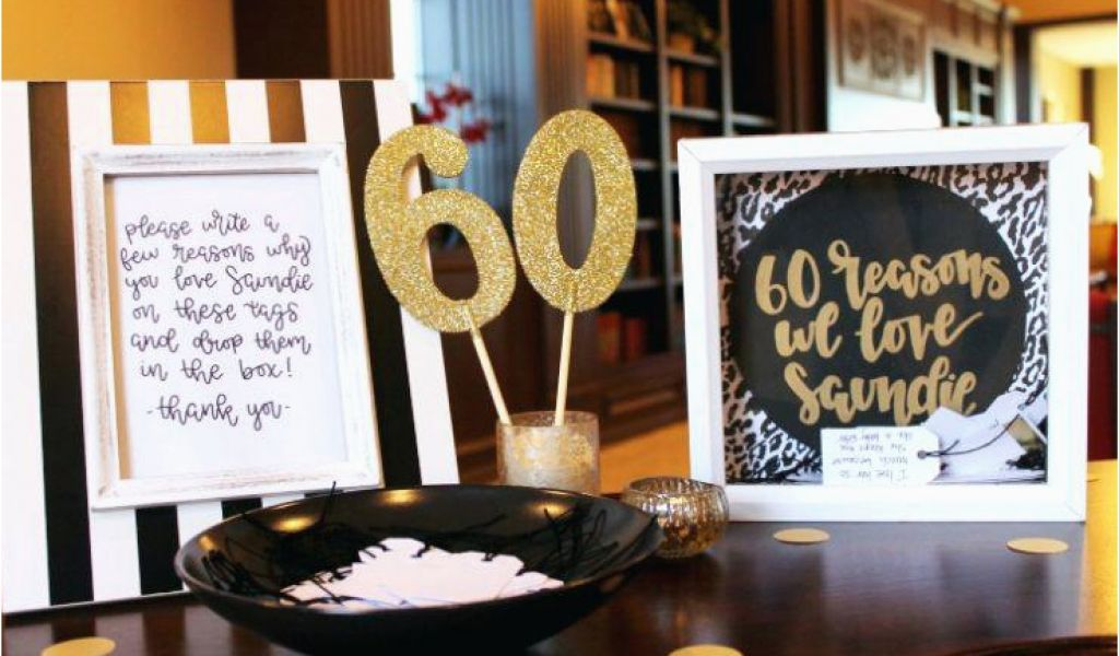 60 Birthday Decoration Ideas Majestic Games For 60th Party