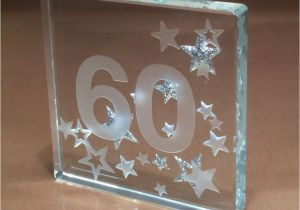 60 Birthday Gift Ideas For Her 60th Spaceform Glass Token Sixty Gifts