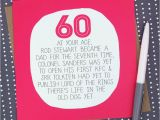 60 Birthday Ideas for Him by Your Age Funny 60th Birthday Card by Paper Plane