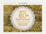 60 Birthday Invitation Templates 20 Ideas 60th Birthday Party Invitations Card Templates