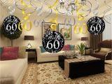 60 Birthday Table Decorations Konsait 60th Birthday Decoration 60th Birthday Hanging