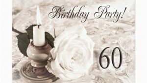 60 Year Old Birthday Invitations Birthday Party Invitation 60 Years Old Zazzle