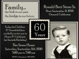 60th Birthday Celebration Invitations 20 Ideas 60th Birthday Party Invitations Card Templates