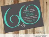 60th Birthday Celebration Invitations 20 Ideas 60th Birthday Party Invitations Card Templates