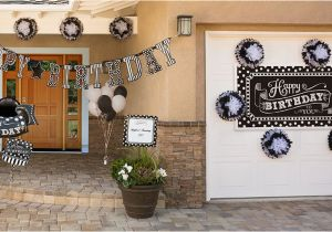 60th Birthday Decorations Black And White Party Supplies City