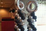 60th Birthday Decorations Cheap 60th Birthday Party Balloon Decorations Pinterest