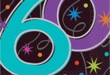 60th Birthday Decorations Cheap the Party Continues 60th Birthday Napkins Party Supplies