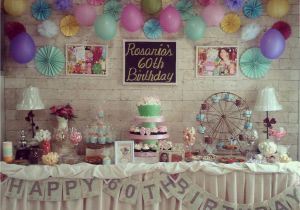 60th Birthday Decorations For Mom Party Ideas Plus
