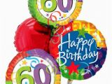 60th Birthday Flowers and Balloons Balloons by Mail A 60th Birthday