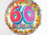 60th Birthday Flowers and Balloons Gift Delivery 60th Birthday Balloon isle Of Wight Flowers