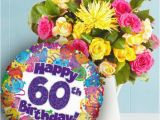 60th Birthday Flowers and Balloons Happy Diamond Jubliee Birthday Page 2
