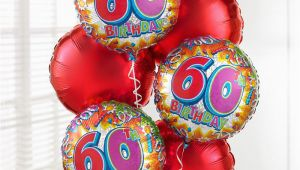 60th Birthday Flowers Delivered Uk Gift Delivery 60th Birthday Balloon Bouquet isle Of