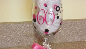 60th Birthday Gifts for Him Etsy 60th Birthday Wine Glass 9 50 Via Etsy Mom 39 S 60th