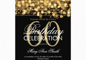 60th Birthday Invitation Cards Design Free Printable Invitations