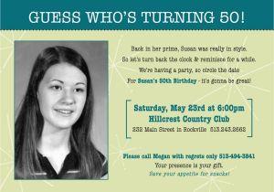 60th Birthday Invitation Wording Funny 50th Party Oxsvitation Com