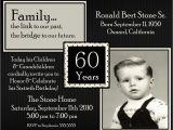 60th Birthday Invitation Wording Samples 20 Ideas 60th Birthday Party Invitations Card Templates